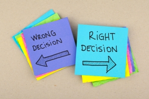 Right-Decision-Wrong-Decision